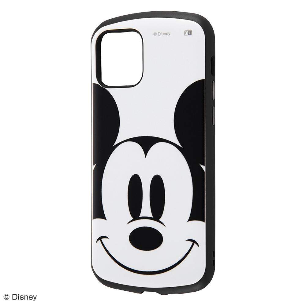 【iPhone 12/12 Pro】耐衝撃ケース MiA 『ミッキーマウス/フェイスアップ』